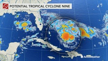Tropical Storm Humberto forms near Bahamas