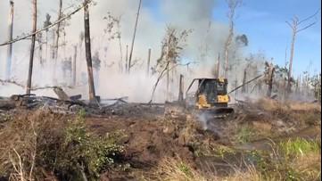 Fire danger high in Florida