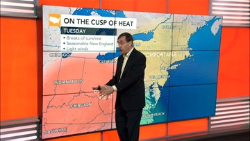 Heat builds in East, Tropics remain active