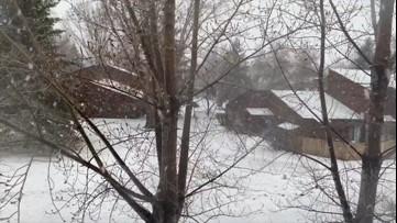 Snow blankets North Dakota