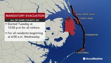 Charleston residents prepare for Hurricane Dorian