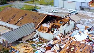 Students return to class after tornado destroys school