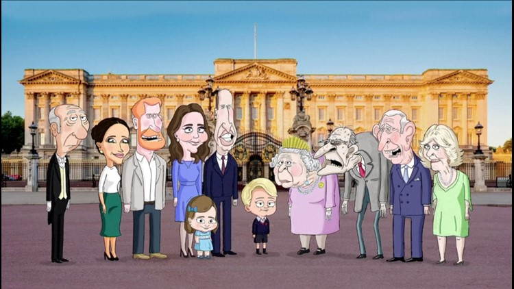 Royal Pain! Animated Show Satirizing Royal Family Gets Greenlight on HBO Max!