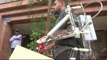 Students Develop Real-Life 'Iron Man' Exosuit