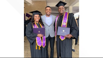 He was set to graduate a first-gen college student. Then, his parents beat him to the diploma
