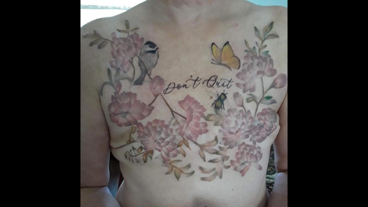 Mastectomy cover up - Nikki Thompson