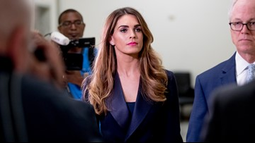 Hope Hicks refuses to talk about time in White House to Democrats