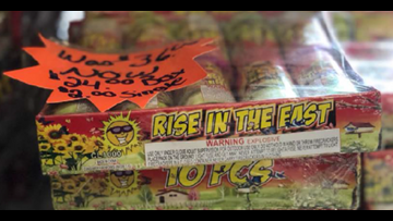 Days before Fourth of July, 38,000 fireworks recalled