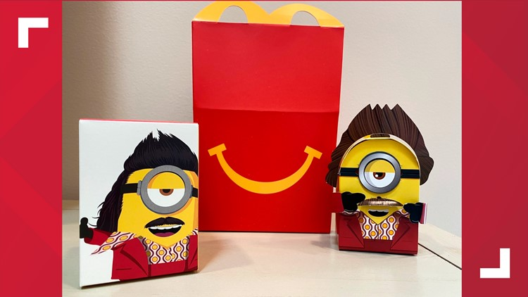 McDonald's begins phasing out plastic toys in Happy Meals