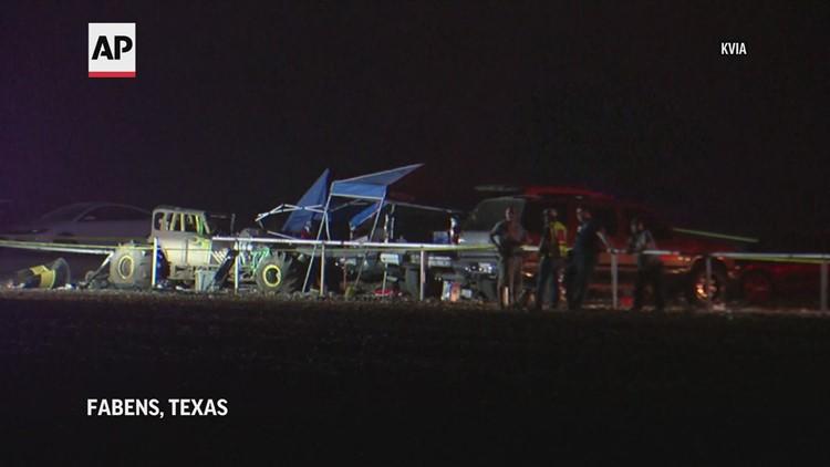 8 hurt as vehicle crashes into Texas race track guard rail