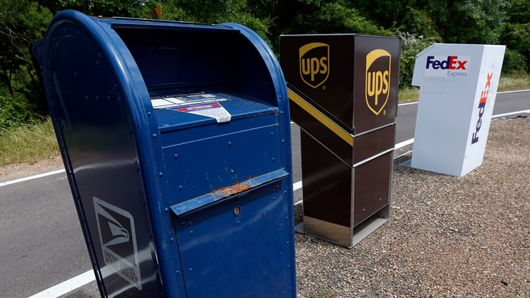 Delivery Services USPS FedEx UPS