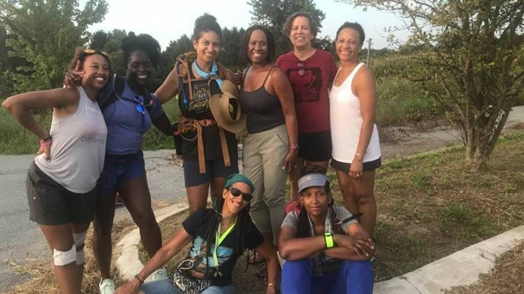Seven women, six days and a healing trek in the footsteps of Harriet Tubman