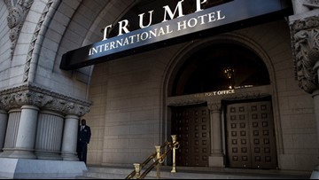Lawsuit: Inaugural committee spent $1 million that profited Trump hotel