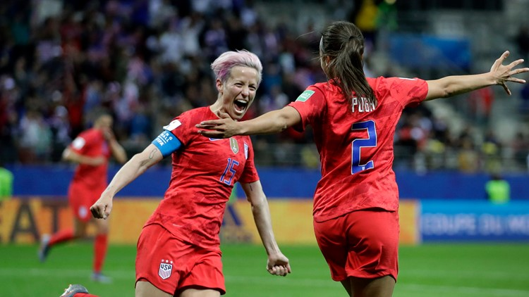 Trump criticizes World Cup soccer star Megan Rapinoe for refusing to visit White House