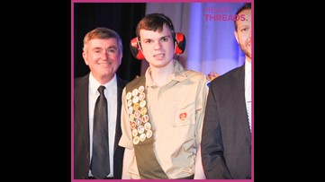 Young man with autism earns Eagle Scout