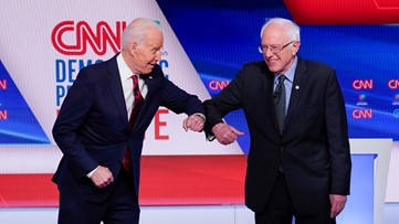 Democratic debate: Biden, Sanders call for more testing to combat coronavirus pandemic