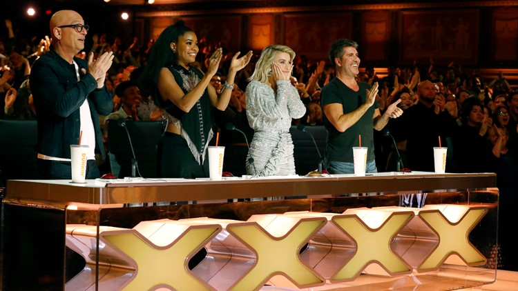 Judges stand for Golden Buzzer AGT 2019