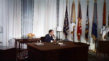 Nixon's phone call to the moon caught the Apollo 11 astronauts off guard