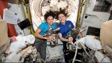 First-ever all-female spacewalk comes Friday morning