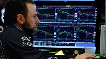 Wall Street rises for first time in three days as oil spurts