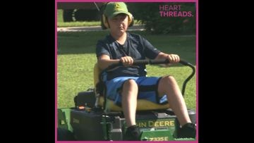 11-year-old loves landscaping