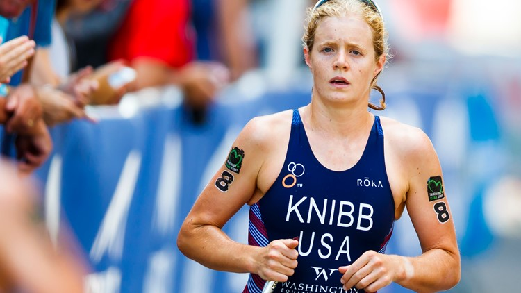 Americans dominate first World Triathlon Series women's race