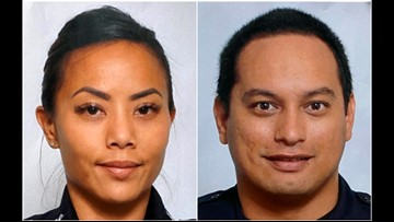 2 Hawaii police officers killed in shooting as homes burn