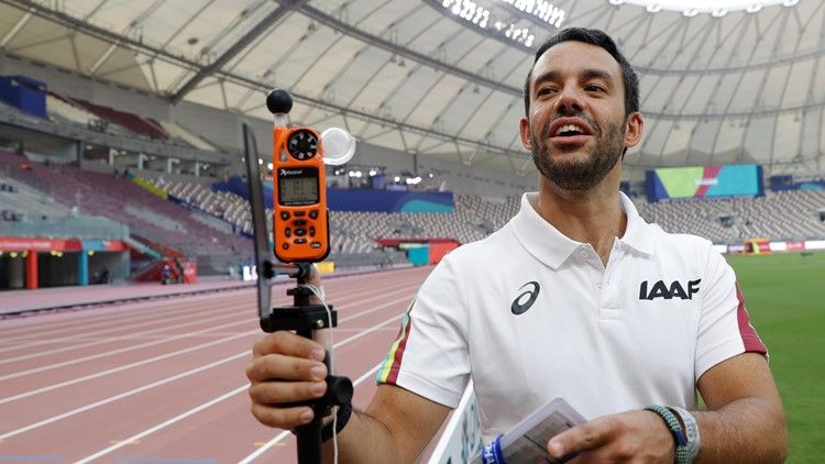 Qatar Athletics Worlds Technology Pill