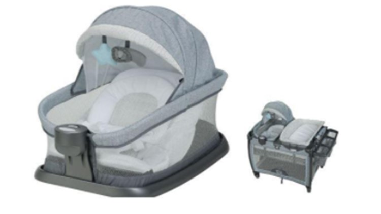 About 51,000 Graco infant inclined sleepers recalled over suffocation risk
