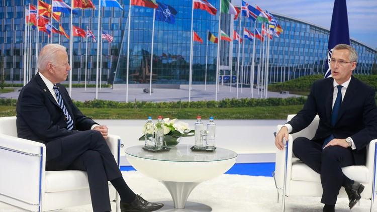 Biden reaffirms US 'sacred' commitment to NATO alliance