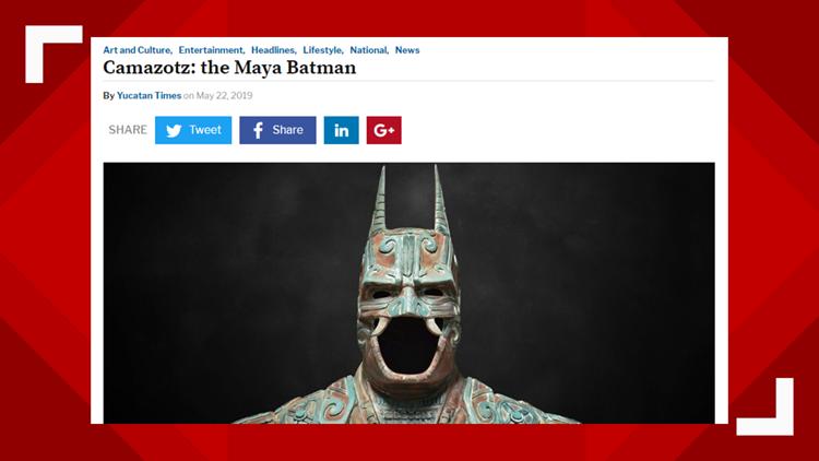 Batman Sculpture