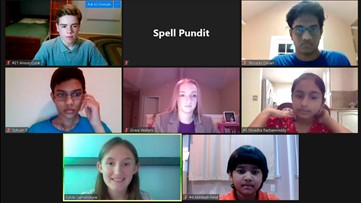 Spellers compete online after national spelling bee canceled