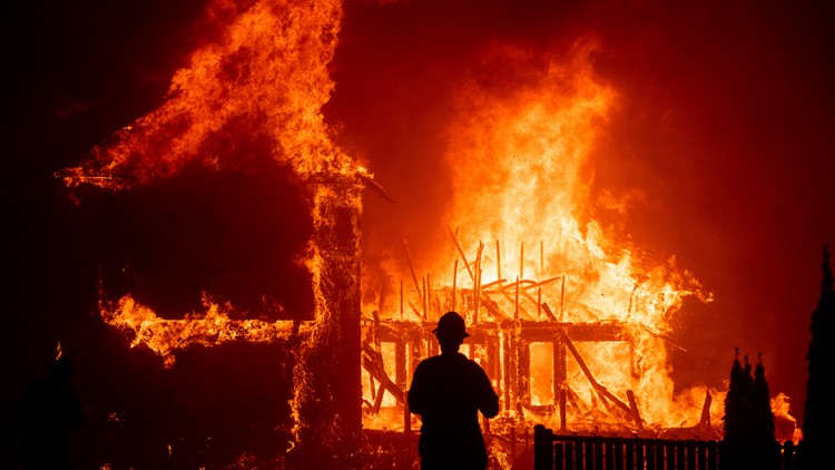 Northern California Wildfire November 2018 file photo