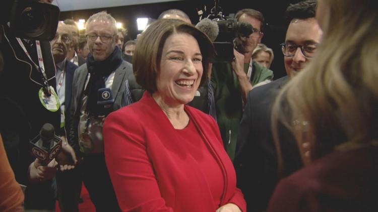 Amy Klobuchar after Iowa debate