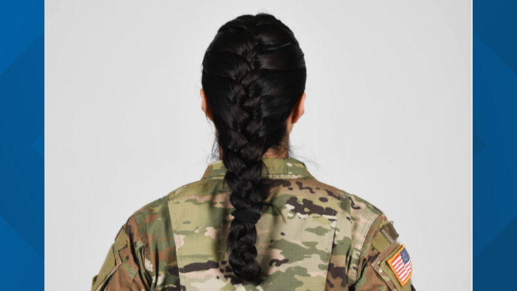 Army now allowing ponytails, braids for female soldiers