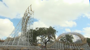 SeaWorld unveils fastest wooden roller coaster in Texas