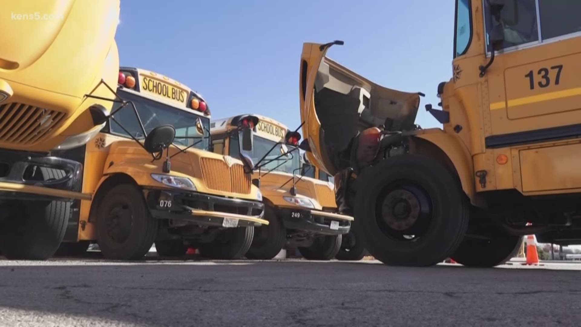 NEISD says 29 buses impacted by fuel mix up | newswest9.com