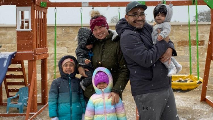 Family's snow-survival story goes viral on TikTok