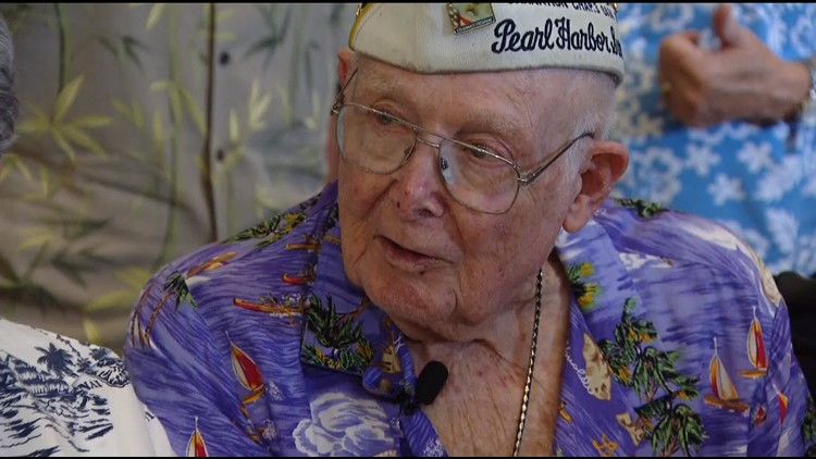 America's oldest Pearl Harbor survivor dies at 103 in San Diego