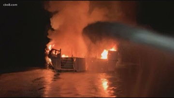 Authorities recover bodies of 33 people killed in California diving boat fire
