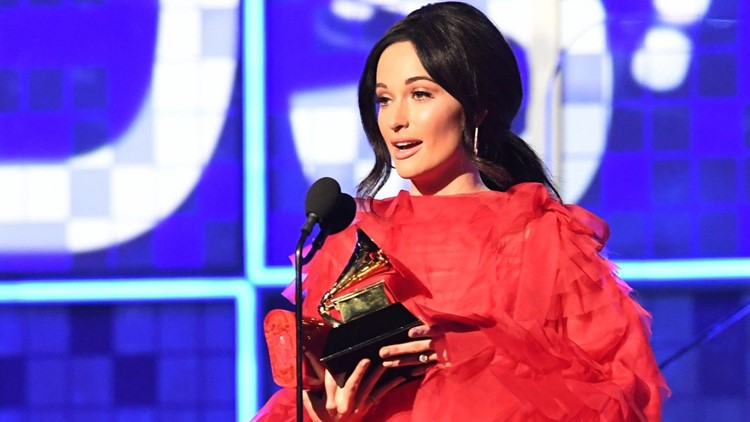 Kacey Musgraves' 'Golden Hour' Wins Album of the Year at 2019 GRAMMYs