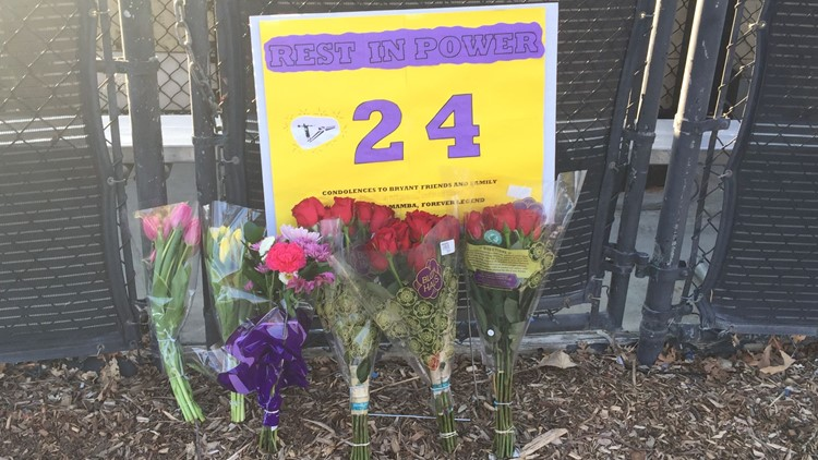 Rest in power sign for Kobe