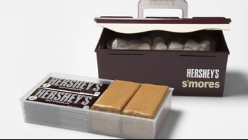 Hershey's now has a S'mores Caddy for those who take their campfire treats very seriously