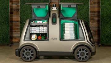 The future is here: Autonomous pizza delivery coming to Houston