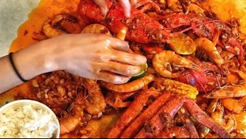 There's an all-you-can-eat seafood boil in Houston during Memorial Day Weekend