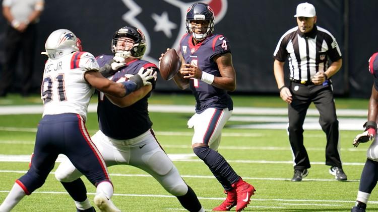 Watson, Watt lead Texans past Patriots, 27-20 | See highlights
