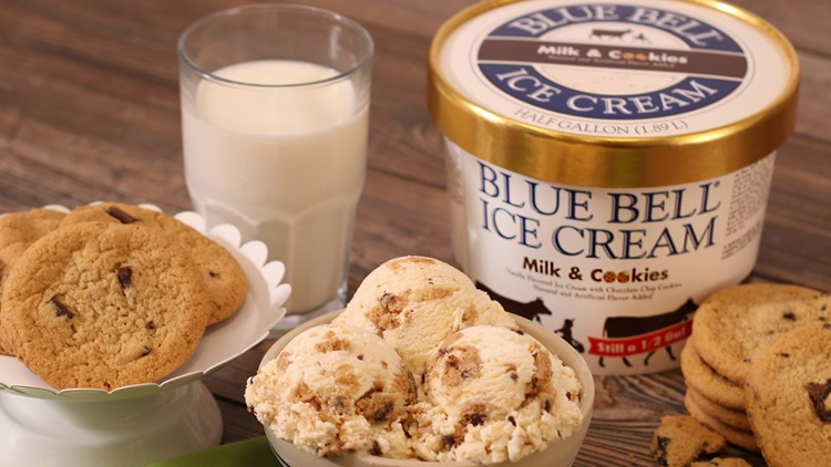 Blue Bell's Milk & Cookies ice cream returns to stores Thursday