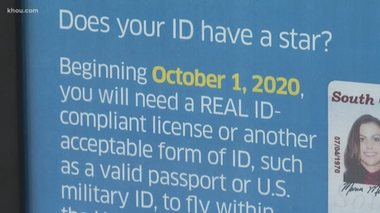 'They will not be allowed to fly'   TSA warns of 2020 changes to ID requirements