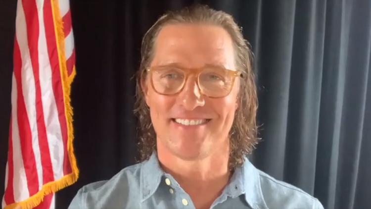 Matthew McConaughey announces plan for virtual benefit to help winter storm victims