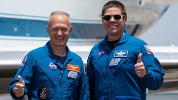 Houston astronauts will make first space launch from U.S. soil since 2011